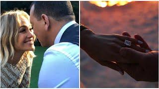 Jennifer Lopez ya tiene el anillo: la cantante se casa con Alex Rodriguez