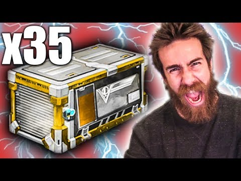 35 ROCKET LEAGUE VICTORY CRATE OPENING!