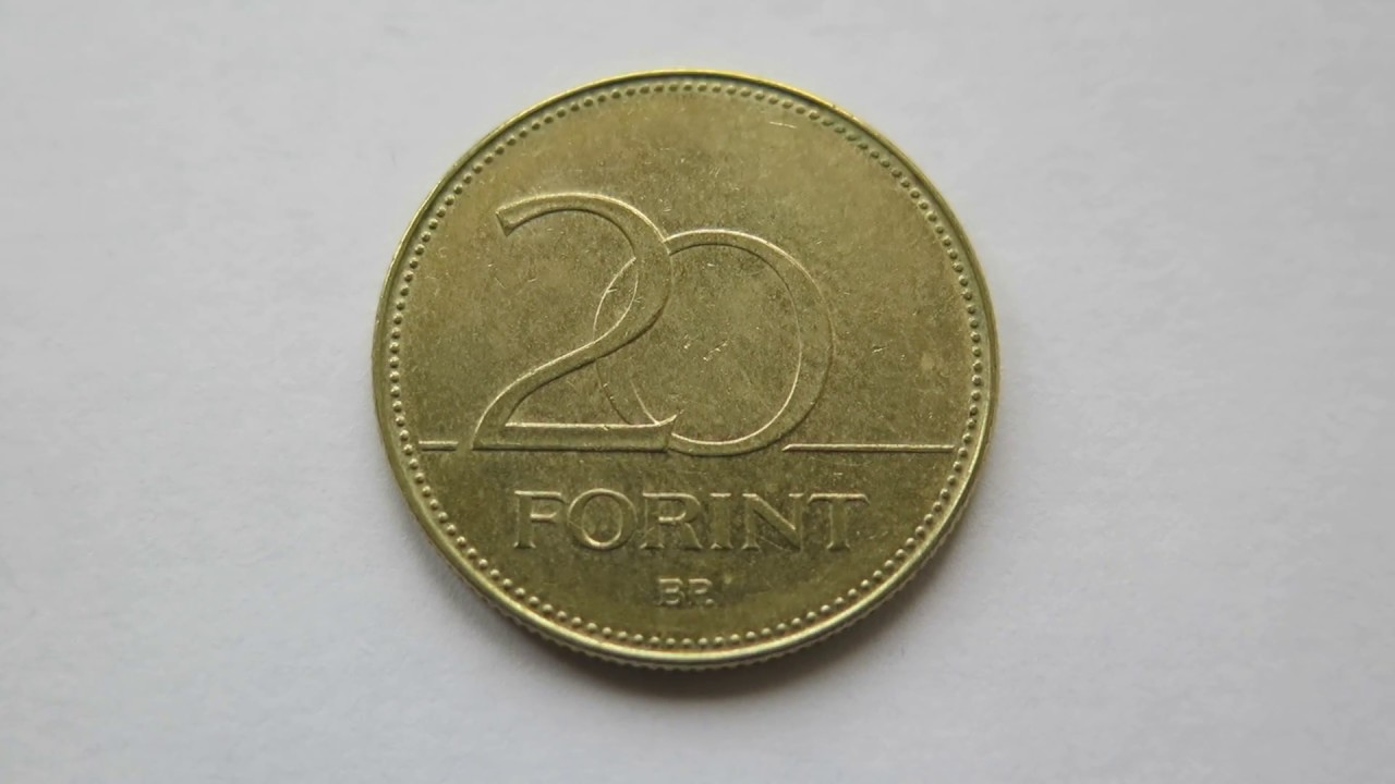 20 Forint Coin Hungary 2017