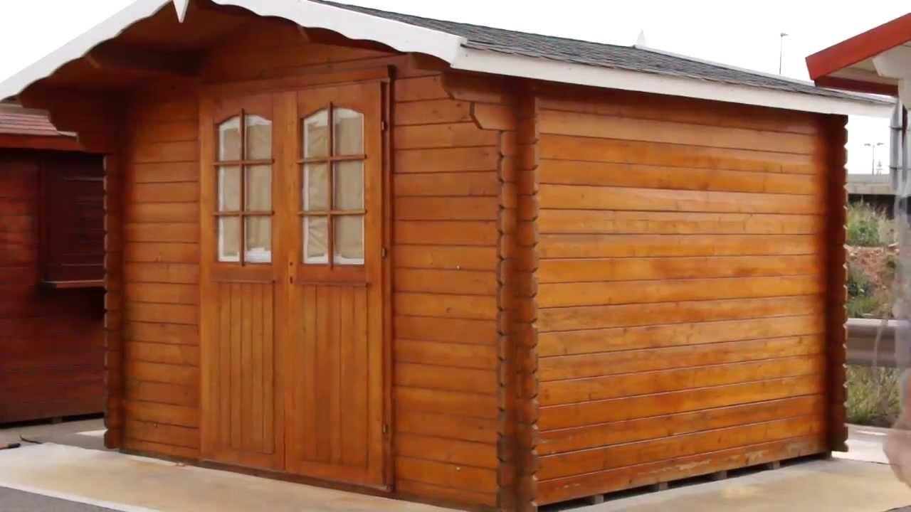 Tratamiento de las casas de madera del grupo tene youtube for Casas de jardin de madera baratas