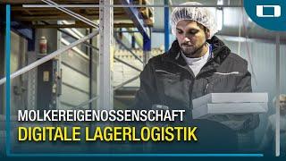 L-mobile warehouse im Einsatz bei der Molkereigenossenschaft Hohenlohe-Franken