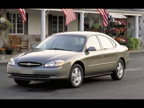 2003 Ford Taurus Start up and Review 3.0 L V6