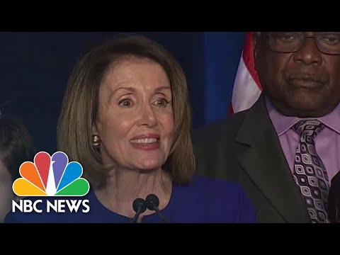 Pelosi: Tonight Is About 'Restoring The Constitution's Checks And Balances' To Trump | NBC News
