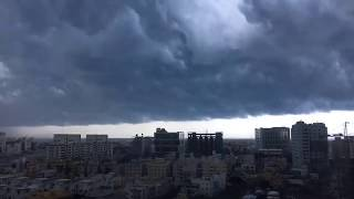 Chennai's Weather August 16th 2017  - Cloudy and Lovely