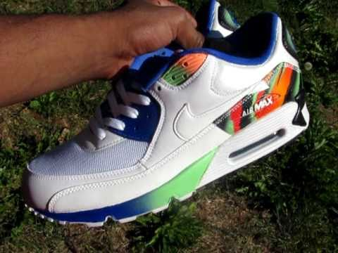Andre Agassi Air Tech challenge vol 2.0 air max 90 by mizzeecustoms