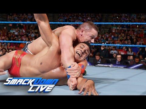 John Cena vs. Alberto Del Rio: SmackDown Live, Aug. 16, 2016