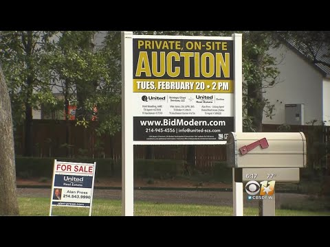 Some Turning To Auctions To Sell Homes In North Texas