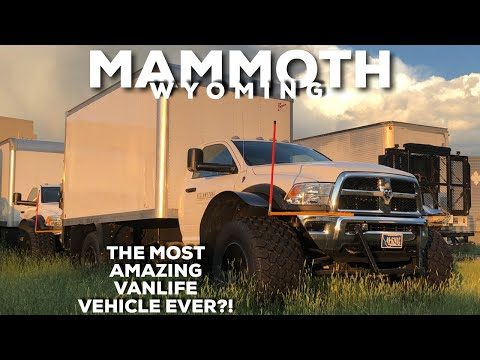 MAMMOTH VANLIFE BOX TRUCK
