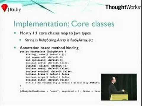 JRuby: The power of Java and Ruby