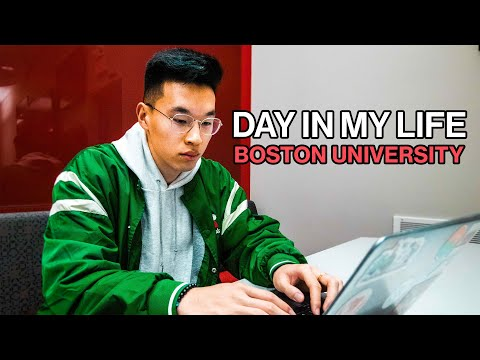 A Day In My Life At Boston University
