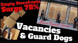 Vacant Retail Properties Surge As Boarded Up Windows & Guard Dogs Become A Way Of Life