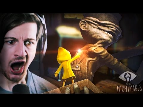 Thumbnail: THEY KNOW WE'RE HERE.. || Little Nightmares (Part 1)