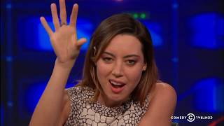 Aubrey Plaza trolls viewers on the Daily Show by being really weird and existential