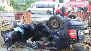Accident grav in Tureac. Doi tineri si-au pierdut viata