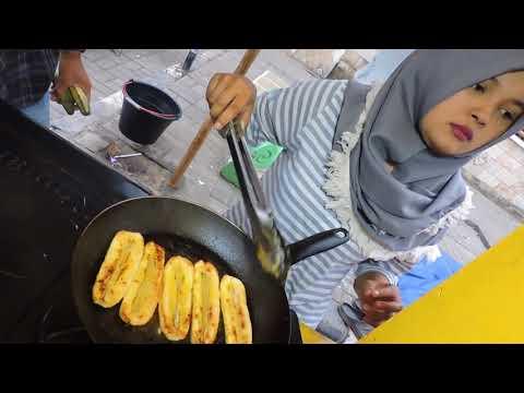 Indonesia Brebes Street Food : Pisang Keju Gurih@Rp.8000,-Alun Alun Brebes//444//Seri I