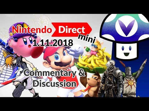 Download Youtube: [Vinesauce] Vinny - Nintendo Direct Mini 1.11.2018: Commentary & Discussion