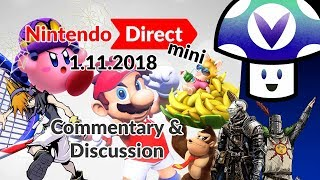 [Vinesauce] Vinny - Nintendo Direct Mini 1.11.2018: Commentary & Discussion