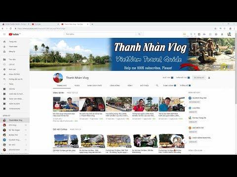 Tin Học Trong Tôi | Đưa link Donate paypal, website, facebook vào kênh youtube