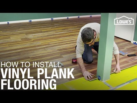 How To Install Waterproof Vinyl Plank Flooring | DIY Flooring Installation