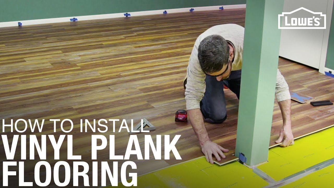 Install Waterproof Vinyl Plank Flooring