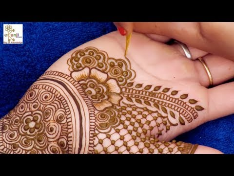 Easy Mehndi Design for Beginners | Easy Floral Mehndi Design For Hands by Sonia Goyal #031