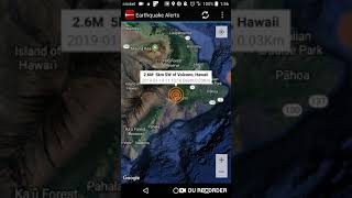 Volcano, Hawaii Earthquake January 14th, 2019