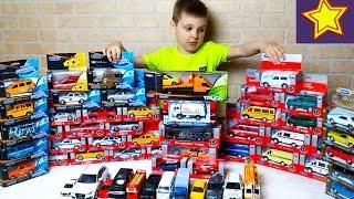 Машинки Игрушки Welly и Автотайм Вся наша коллекция! Toys for kids