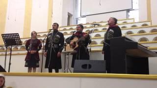 Гости из Грузии в церкви Спасение Барановичи