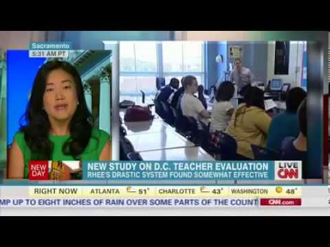 CNN Michelle Rhee: Teacher Evaluations and Teacher Effectiveness 10/21/2013