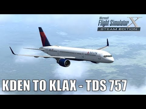 Denver to Los Angeles TDS 757 Delta Airlines|Drawyah