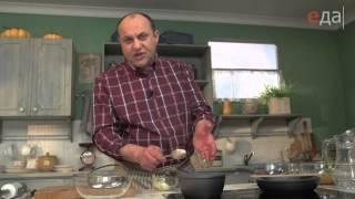 Хумус с жареным фаршем