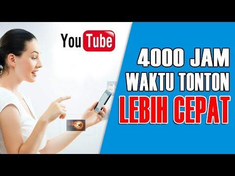 4000 Jam Waktu Tonton Lebih Cepat | Cara Promosi Video di YouTube