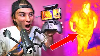 Using Thermal Cameras To Cheat in Hide N Seek!
