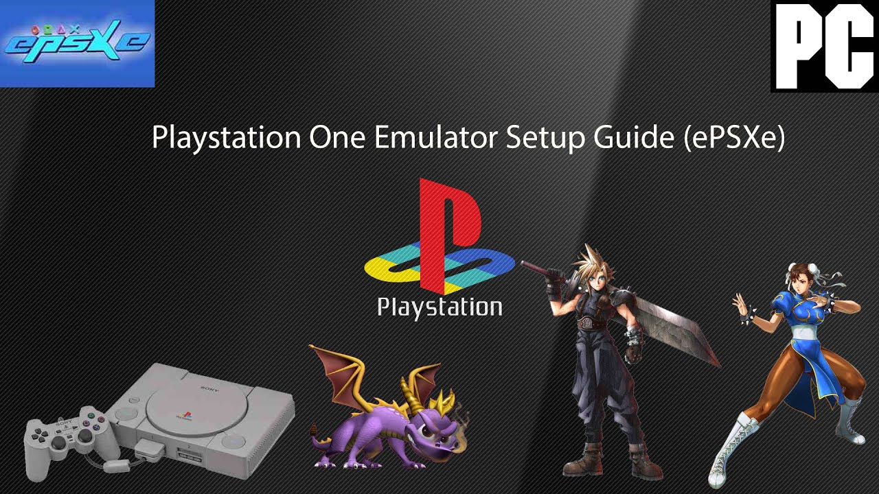 Playstation One Emulator ePSXe Setup Guide