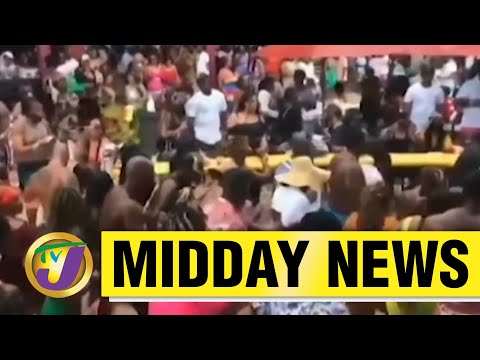 Two Charged for Mocha Fest Party Held in Jamaica   TVJ Midday News - June 9 2021