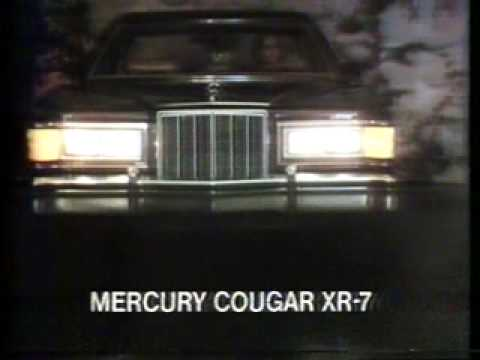 Mercury cougar xr7 1978 commercial youtube publicscrutiny Image collections