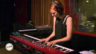"""Seinabo Sey performing """"Burial"""" Live on KCRW"""