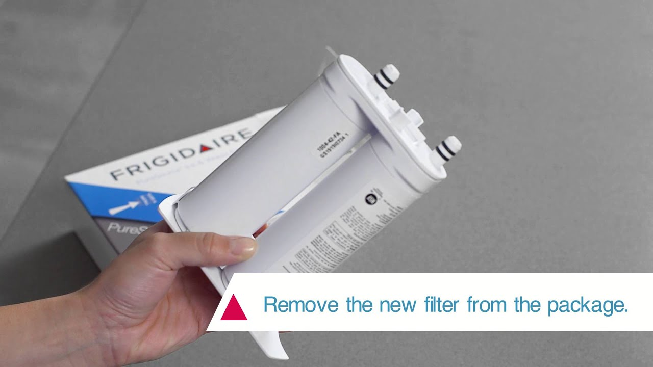 How to Install the Frigidaire PureSource2® Water Filter