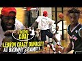 LeBron James PROVES He's The GOAT!! Starts DUNKING During Bronny's Game Then Coaches Them To Win!!