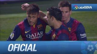 vuclip Golazo de volea de Neymar (0-4) tras pared con Messi en el Elche CF - FC Barcelona