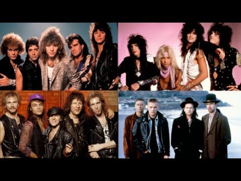 Top 100 Rock Songs Of The 1980's - YouTube