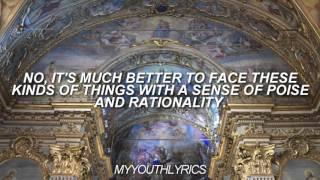 Panic! At The Disco - I Write Sins Not Tragedies (Lyrics Video) HD