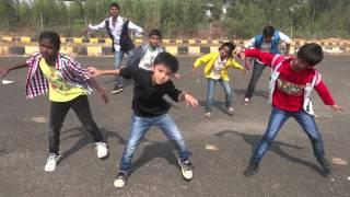 Sardaar Gabbar Singh Theme Song by Prabhu ABCD Dance Floor