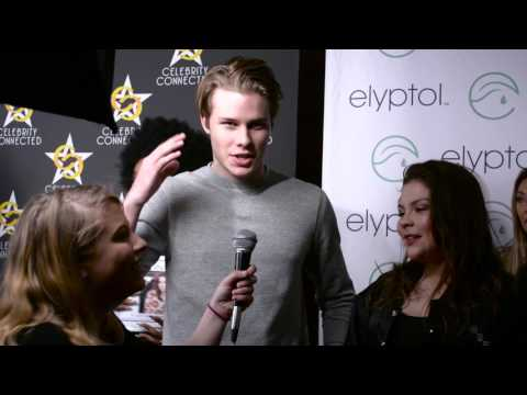 Logan Shroyer and Hannah Zeile  at Celebrity Connected Suite Honoring the Academy Awards