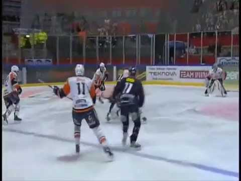 Carl Söderberg gör hattrick mot Växjö (24-9/2012)
