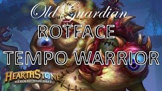 Rotface Tempo Warrior (Hearthstone Frozen Throne deck)