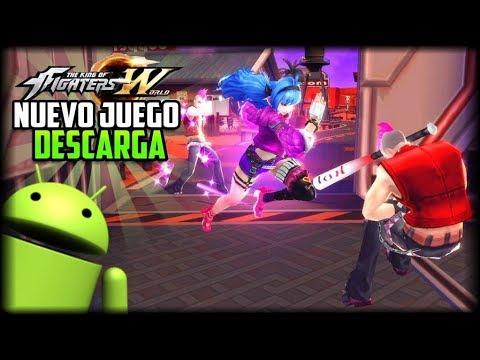 POR FIN! - Descarga Nuevo Juego de King Of Fighters World para Android -  APK - Como Registrarse