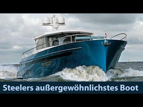 Steeler NG 65 S-design // Steelers Außergewöhnlichste Yacht
