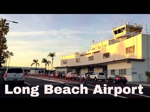 Long Beach  (LGB) California Airport Driving directions