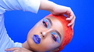 slaying sunset makeup   fleek by ahliyah